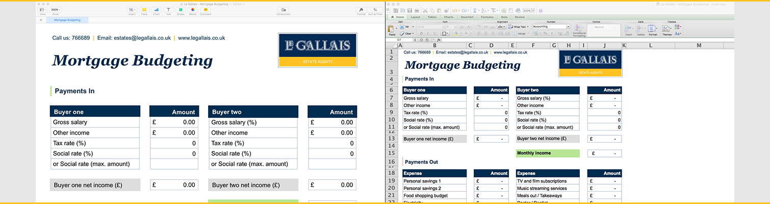 Mortgage Budgeting - Open